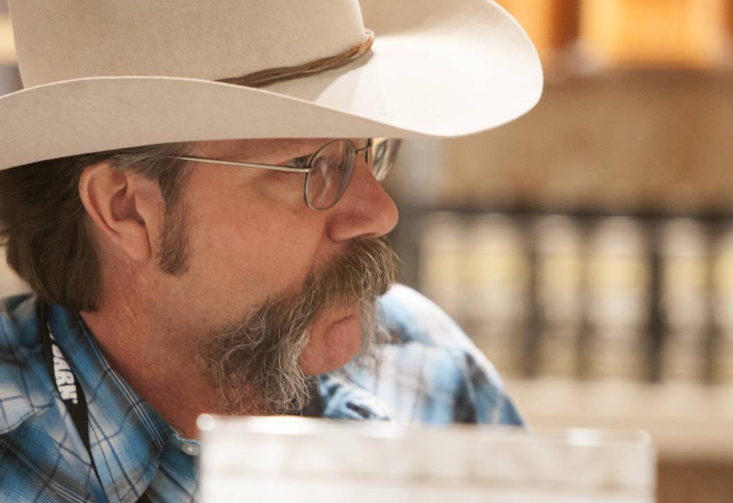 Michael Hull during an interview at Boot Barn store on Thursday, May 4, 2017, in Las Vegas. Bizuayehu Tesfaye Las Vegas Review-Journal @bizutesfaye