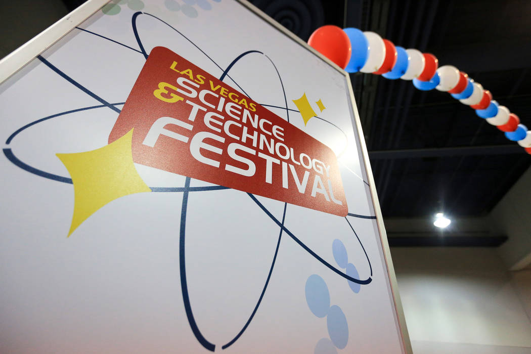 The Las Vegas Science and Technology Festival at the Cashman Center in Las Vegas on Saturday, May 6, 2017. Brett Le Blanc Las Vegas Review-Journal @bleblancphoto