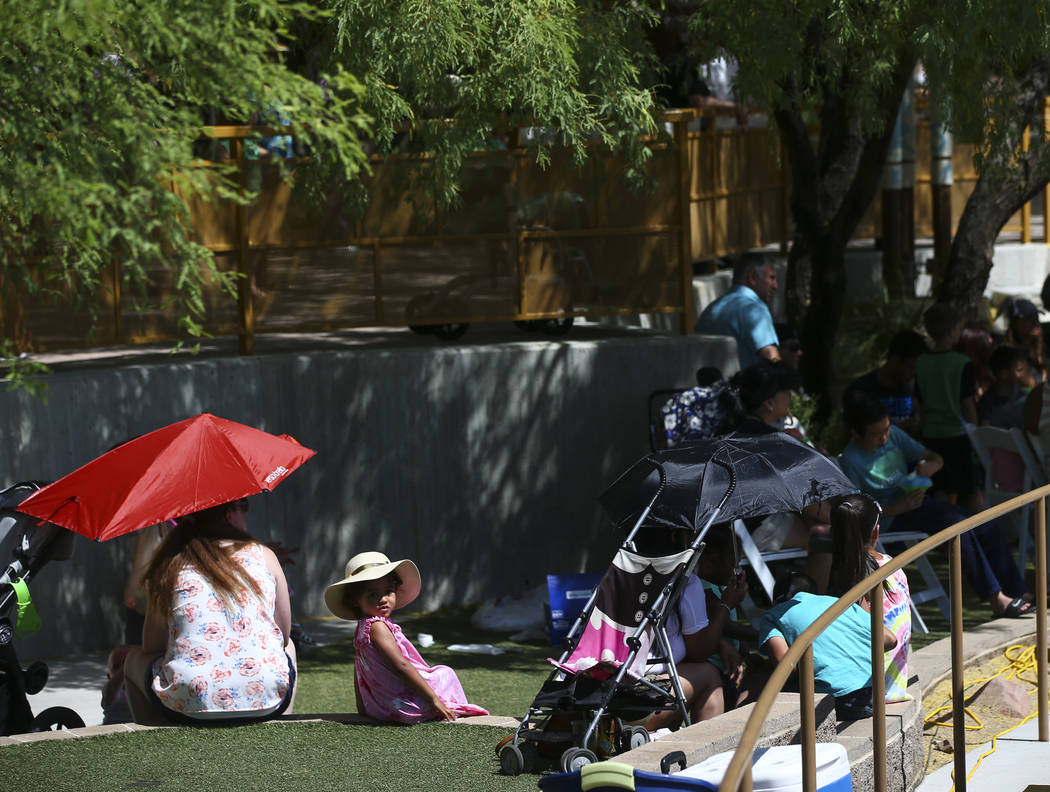 Attendees during the 'Ohana Festival, celebrating Pacific Islander and Hawaiian cultures, at the Springs Preserve in Las Vegas on Saturday, May 6, 2017. Chase Stevens Las Vegas Review-Journal @css ...