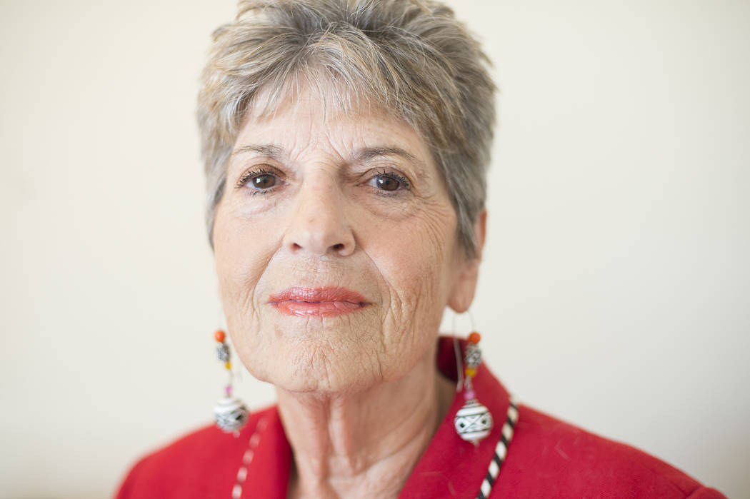 Beverly Saperstein, 80, at her home on Wednesday, May 3, 2017, in Henderson. Saperstein has been named Nevada Senior Citizen of the Year 2017 for her long record of volunteerism. Bridget Bennett L ...
