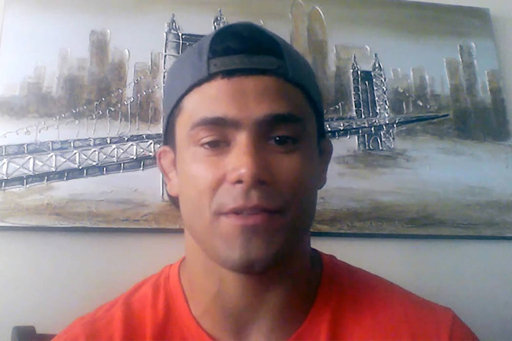 Johnny Nunez (Heidi Fang/Las Vegas Review-Journal)
