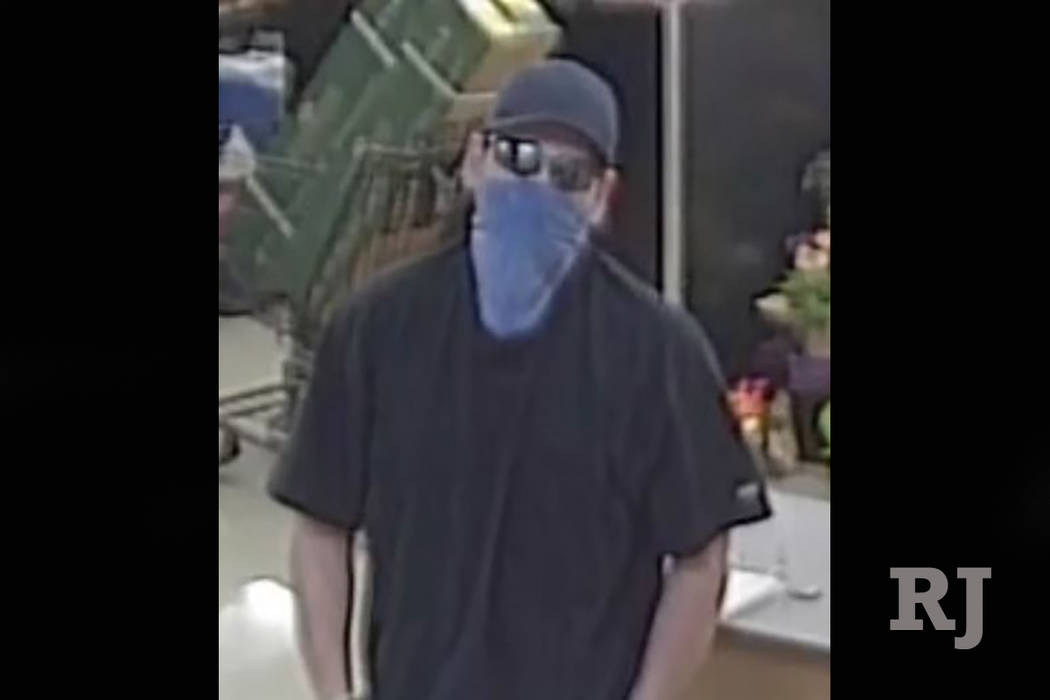 Police are looking for a man who robbed two banks in two days. (Metropolitan Police Department)