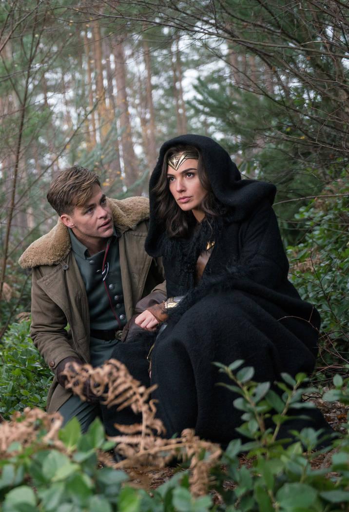 "Chris Pine stars as Captain Steve Trevor in ""Wonder Woman."" Clay Enos DC Comics"