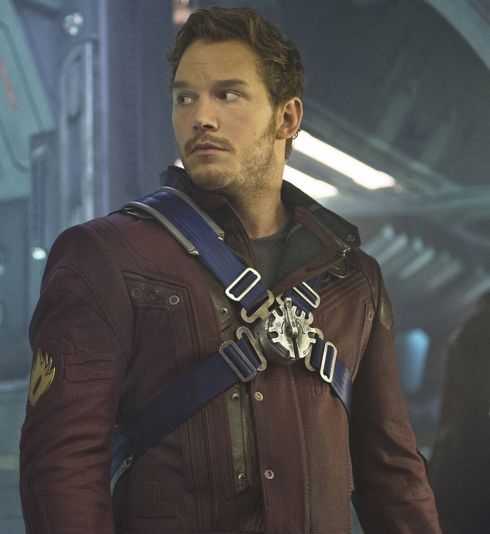 Chris Pratt is Peter Quill/Star-Lord in Marvel's Guardians Of The Galaxy. Jay Maidment Marvel