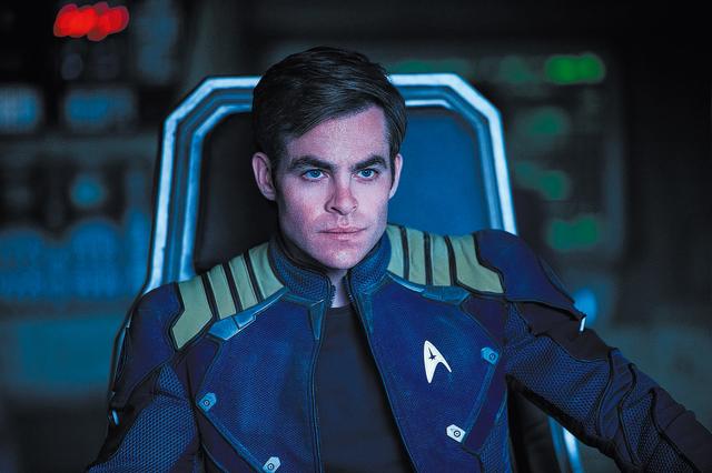 "Chris Pine plays Capt. Kirk in ""Star Trek Beyond."" (Paramount Pictures)"