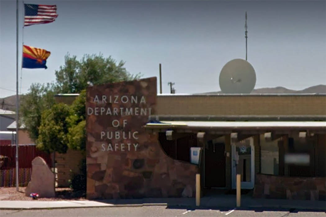 Arizona Department of Public Safety office in Kingman, Arizona (Google images)