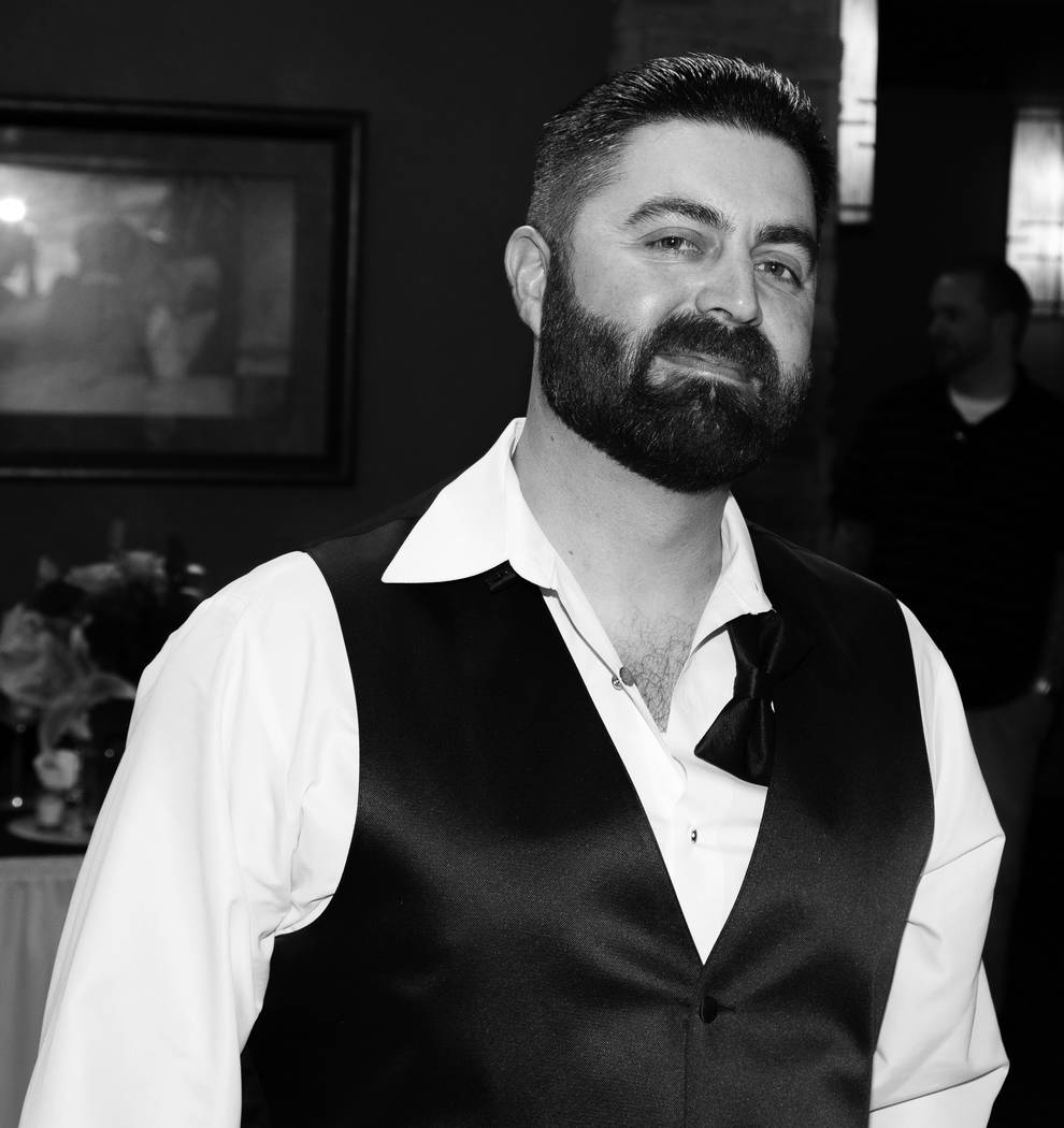 Luis Campos, 45, died this week after a stranger punched him once in the head for no apparent reason early Sunday outside of a downtown Las Vegas bar. Campos was in town for a brother's bachelor p ...