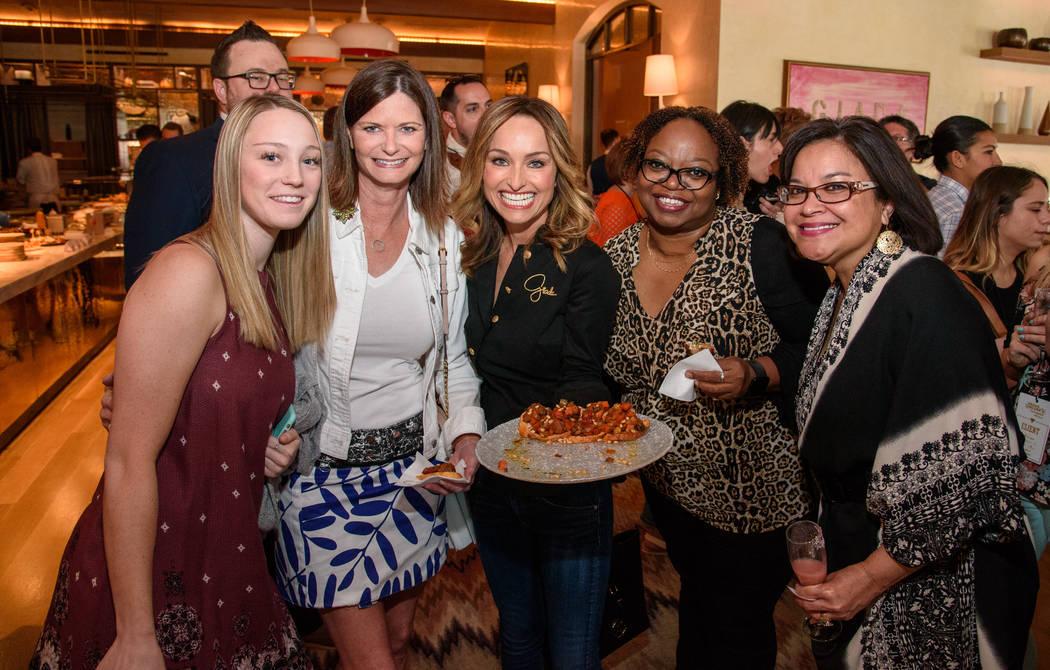 Giada De Laurentiis hosts brunch at her restaurant Giada at The Cromwell during Vegas Uncork'd on Saturday, April 29, 2017, in Las Vegas. (Erik Kabik)