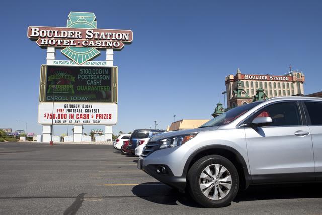 Boulder Station in Las Vegas. (Loren Townsley/Las Vegas Review-Journal) @lorentownsley