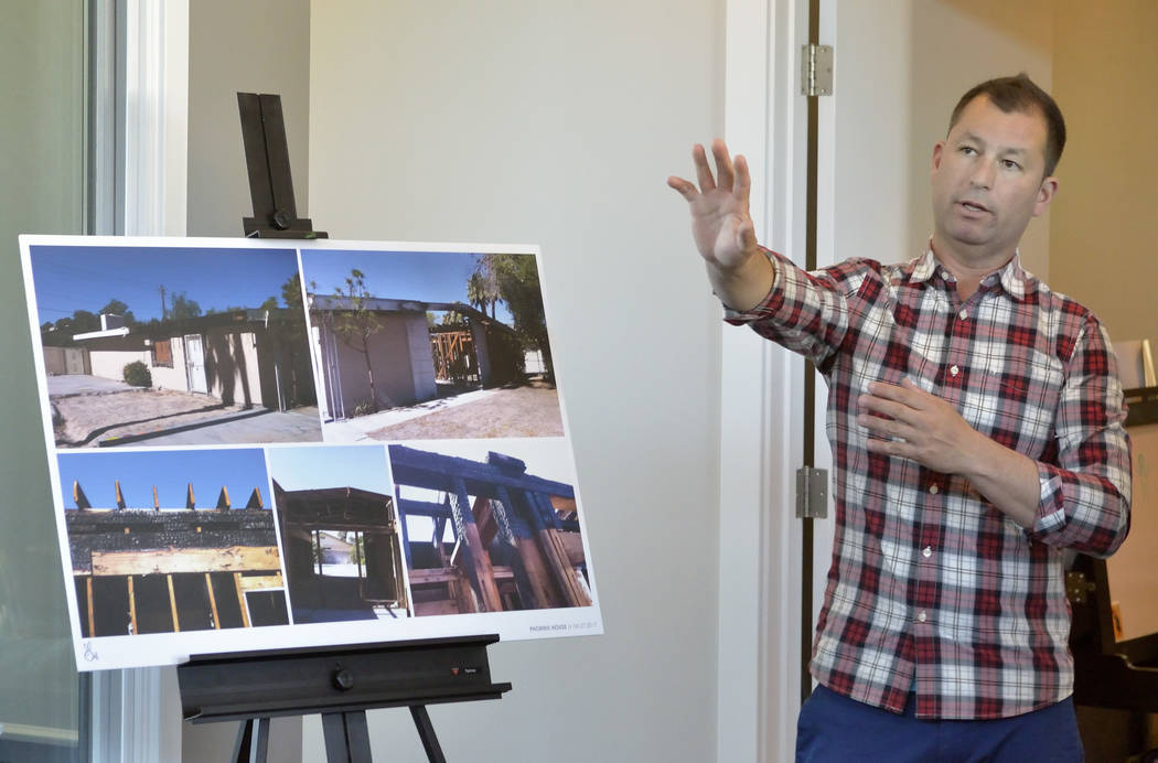 Bill Hughes Real Estate  Craig Palacios, a principal with Bunnyfish Studios, talks about the work he and his team did restoring the Phoenix House from a burned-out shell.