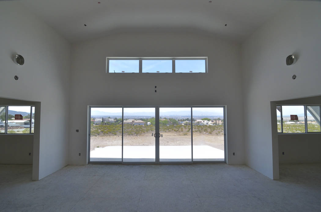 Zero-Energy Home In Henderson Has Panoramic View Of Las Vegas