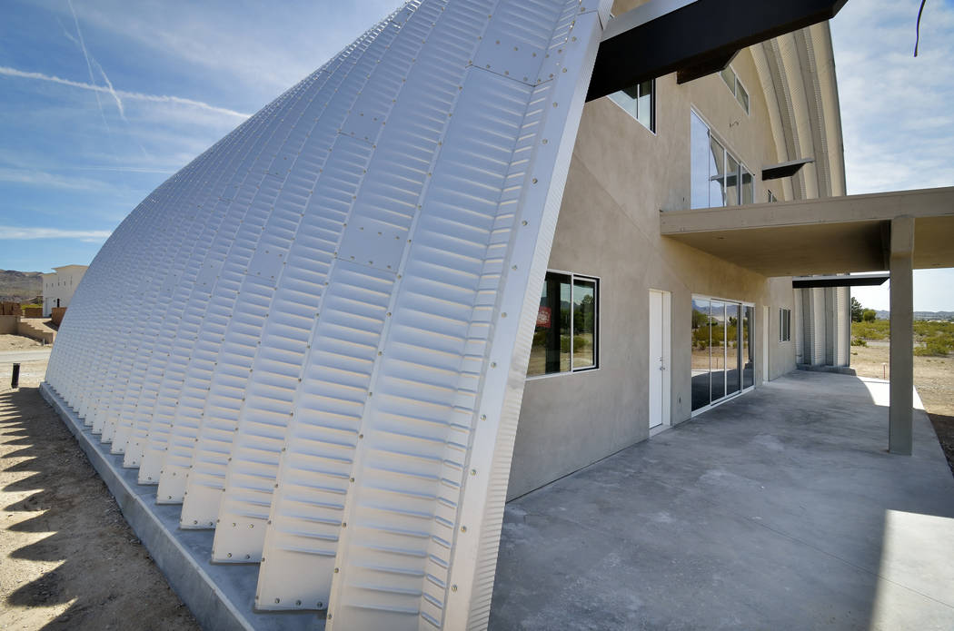Bill Hughes Real Estate The exterior of a custom home built by designer and owner Aeron Tozier