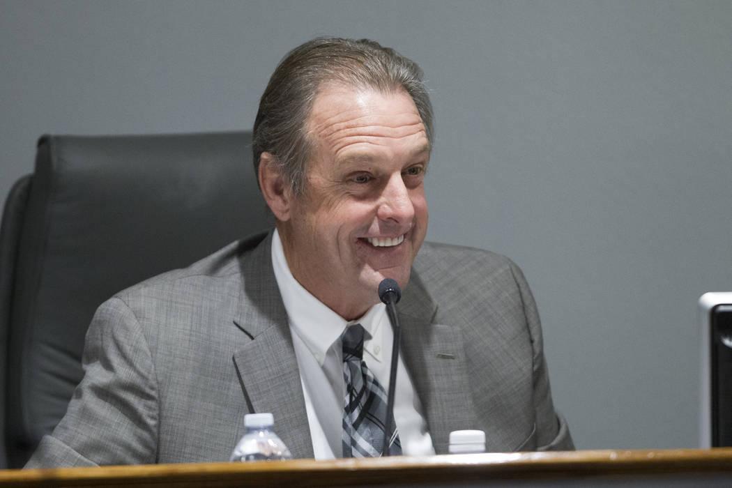 North Las Vegas Mayor John Lee. (Erik Verduzco Las Vegas Review-Journal) @Erik_Verduzco