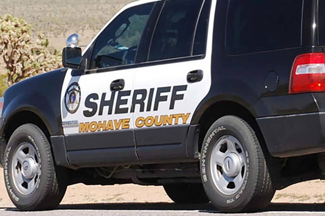 One person died Thursday in a two-vehicle crash on Pierce Ferry Road in Dolan Springs, Arizona. (Mohave County Sheriff's Office)