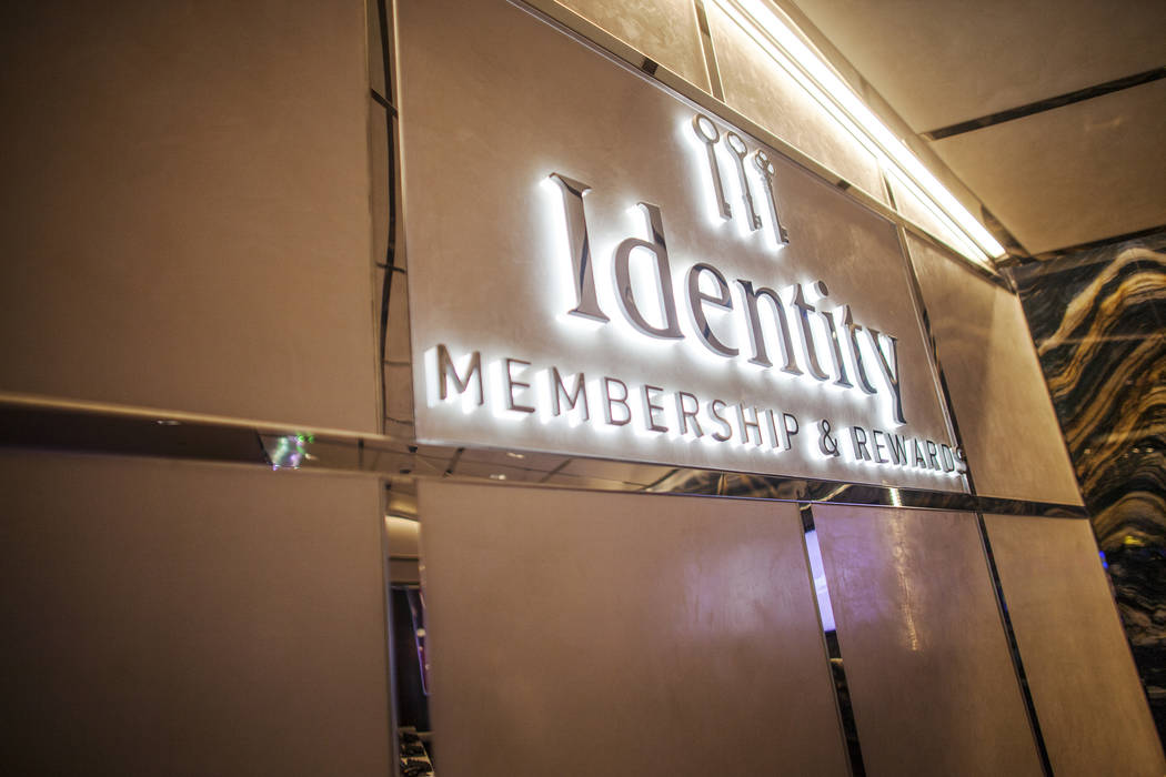 The Identity desk, the Cosmopolitan's membership service, at The Cosmopolitan hotel-casino on Monday, May 8, 2017, in Las Vegas. Management moved the desk closer to the gaming floor. Rachel Aston  ...