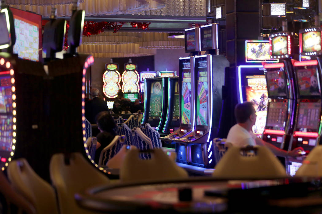 The gaming floor at The Cosmopolitan hotel-casino on Monday, May 8, 2017, in Las Vegas. Rachel Aston Las Vegas Review-Journal @rookie__rae