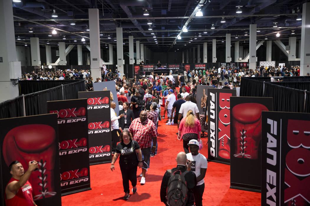 The Box Fan Expo at the Las Vegas Convention Center on Saturday, May 6, 2017, in Las Vegas. Erik Verduzco Las Vegas Review-Journal @Erik_Verduzco