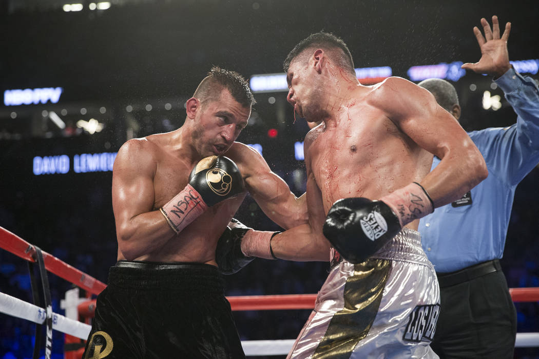 at T-Mobile Arena on Saturday, May 6, 2017, in Las Vegas. Erik Verduzco Las Vegas Review-Journal @Erik_Verduzco