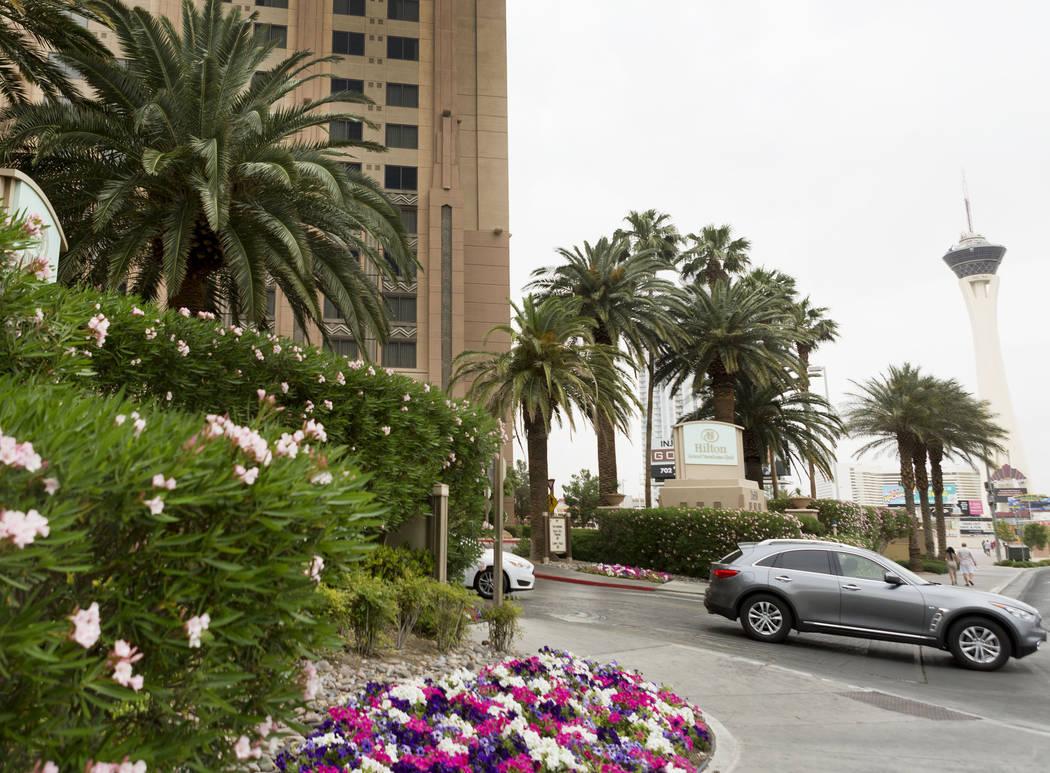 Hilton Grand Vacations Club on the Boulevard, Las Vegas, Sunday, May 7, 2017. (Elizabeth Brumley/Las Vegas Review-Journal) @EliPagePhoto