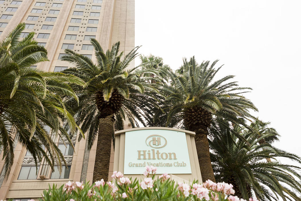 Hilton Grand Vacations Club on the Boulevard, Las Vegas, Sunday, May 7, 2017. Elizabeth Brumley Las Vegas Review-Journal @EliPagePhoto
