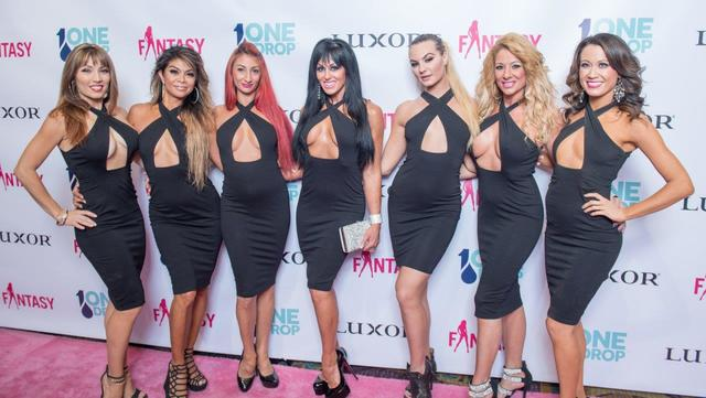 "The cast of ""Fantasy"" celebrates its 17th anniversary and 2017 calendar unveiling Tuesday, Oct. 25, 2016, at The Luxor in Las Vegas. The cast of ""Sexxy"" at Westgate Las Vegas is pictured here. ..."