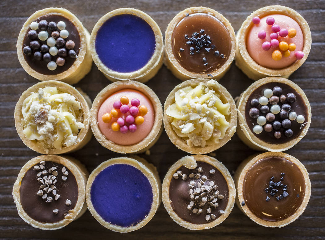 Aloha tart pack at Paina Cafe on Tuesday, May 9, 2017, in Las Vegas. Benjamin Hager Las Vegas Review-Journal @benjaminhphoto
