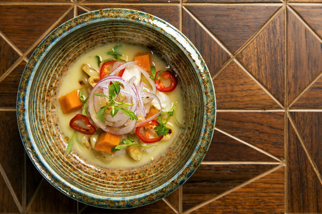 Chef Lorena Garcia's Classic Ceviche. (Anthony Mair)