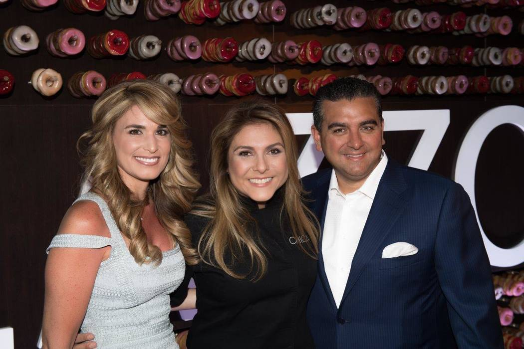"""Sweet Escape: An Evening of Buddy, Beignets, Bonbons & Booze"" hosted by Buddy Valastro at The Aquatic Club at The Palazzo for Vegas Uncork'd on Saturday, April 29, 2017, in Las Vegas. Lor ..."