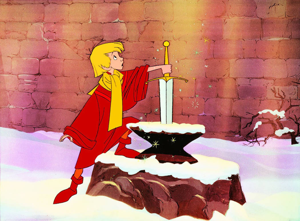 """The Sword in the Stone."" Disney"