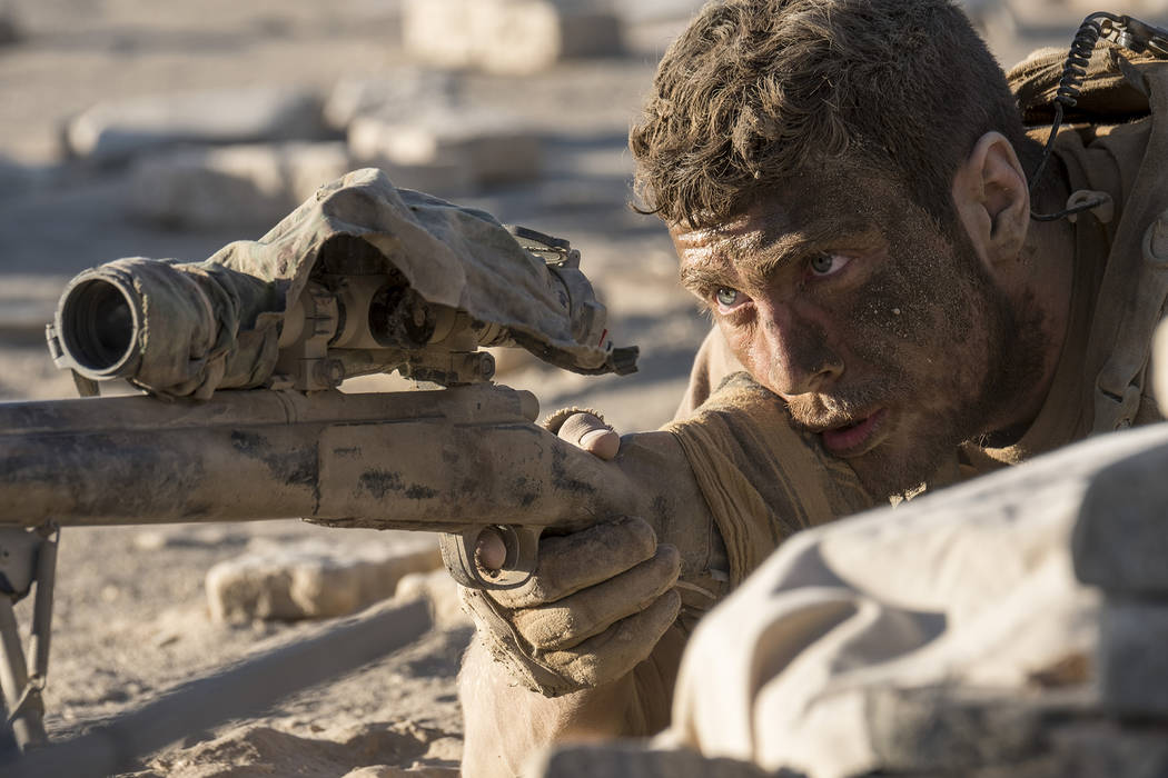 "Aaron Taylor-Johnson in ""The Wall.""  David James Courtesy of Amazon Studios and Roadside Attractions"