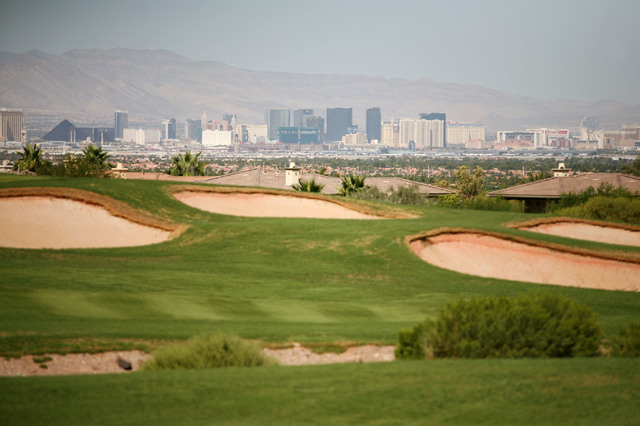 DragonRidge Country Club inside MacDonald Highlands has been acquired by Pacific Links International. The Henderson golf course is the third Southern Nevada property acquired by the company. The o ...
