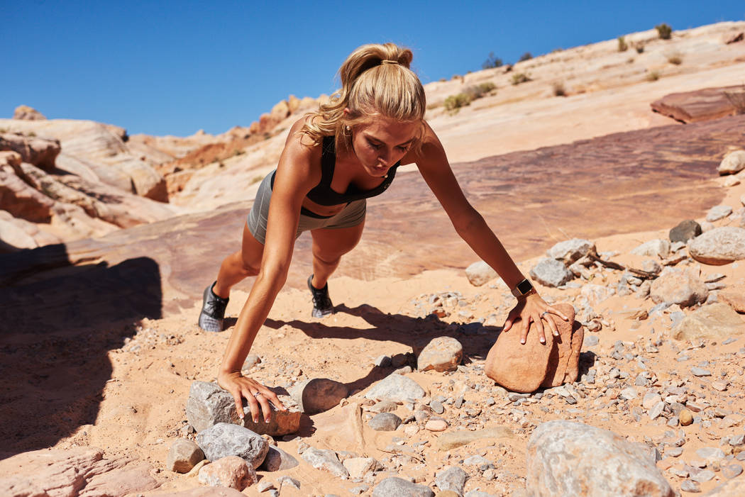 2017 Miss Arkansas Arynn Johnson takes part in a photo shoot at Valley of Fire State Park in Nevada on Friday, May 5, 2017. (Miss Universe Organization)