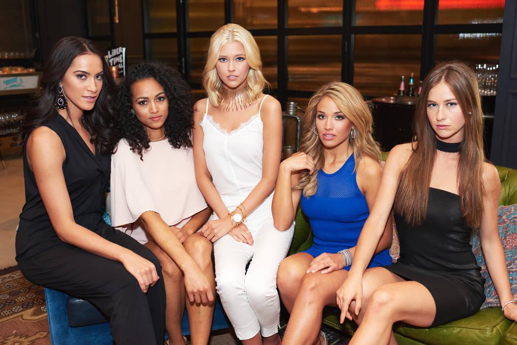 2017 Miss USA Pageant contestants take part in a photo shoot at Libertine Social at Mandalay Bay on Friday, May 5, 2017, in Las Vegas. (Miss Universe Organization)