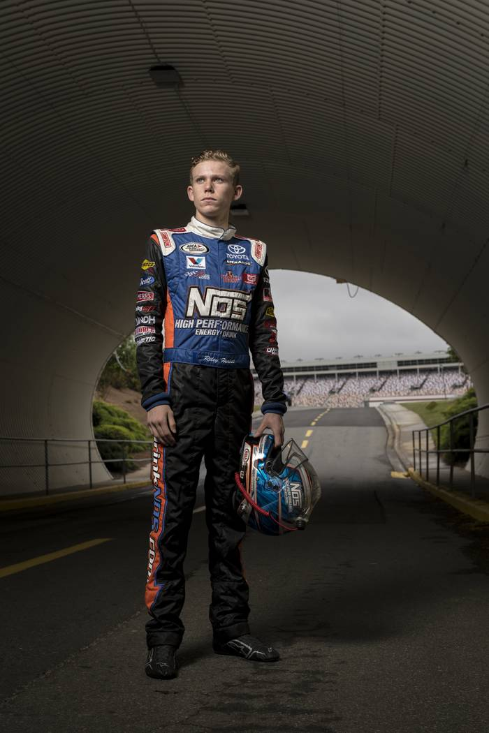 Riley Herbst, NASCAR NEXT 2017. (Barry Cantrell/Short Track Spotlight)