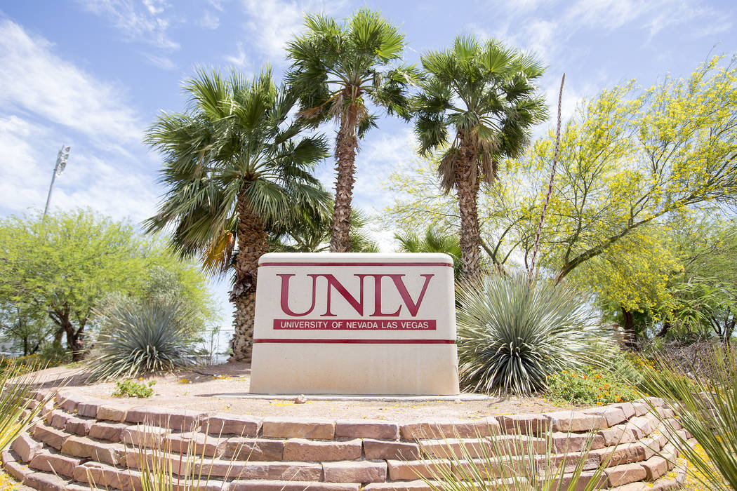 UNLV and the UNLV School of Medicine will see a funding increases for the 2017-19 biennium. (Bridget Bennett Las Vegas Review-Journal) @bridgetkbennett