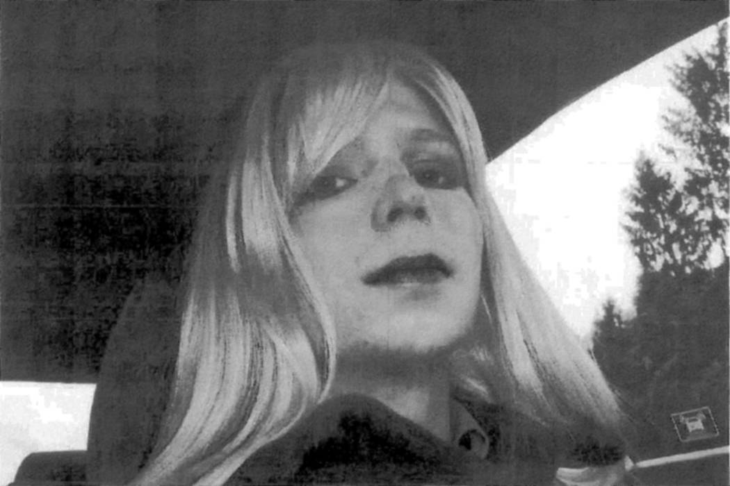 Chelsea Manning in 2010 (U.S. Army handout via Reuters)