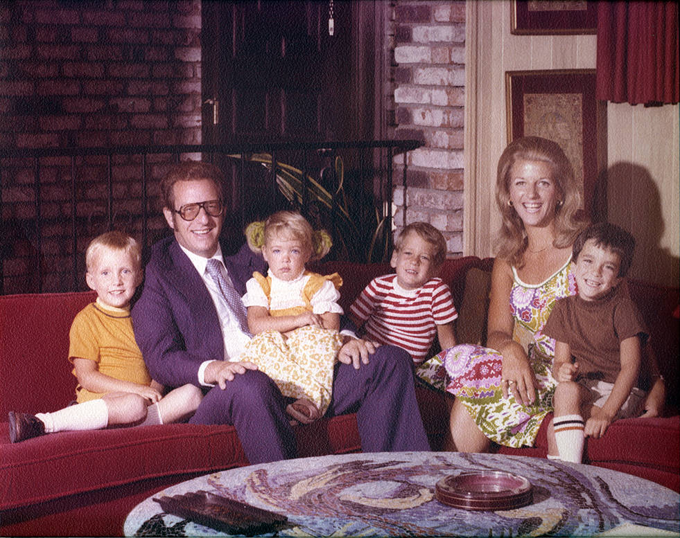 Long before either held the title of Las Vegas mayor, Oscar and Carolyn Goodman adopted and raised their four children in the city they would both later lead. Eric, from left, Cara, Ross, Oscar Jr ...