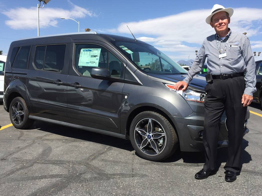 Friendly Ford Friendly Ford sales consultant Larry Davis says the truck market is very strong and includes the 2017 Ford Connect passenger wagon and cargo van.