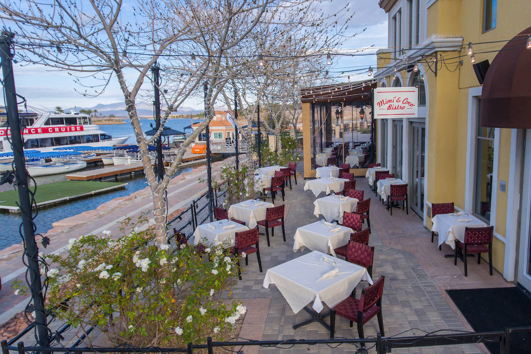 Unlike a number of restaurants at Lake Las Vegas in Henderson, Mimi & Coco Bistro has seating overlooking the lake. Mimi & Coco Bistro