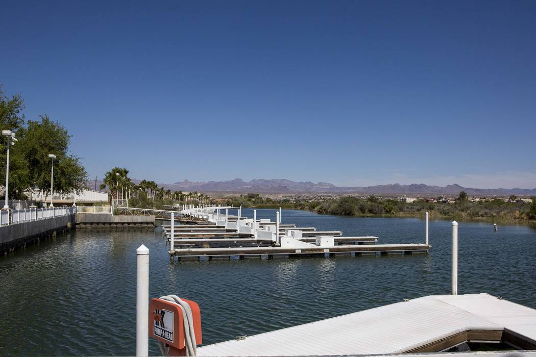 The Laughlin Bay Marina in Laughlin has a new owner. (Patrick Connolly/Las Vegas Review-Journal) @PConnPie