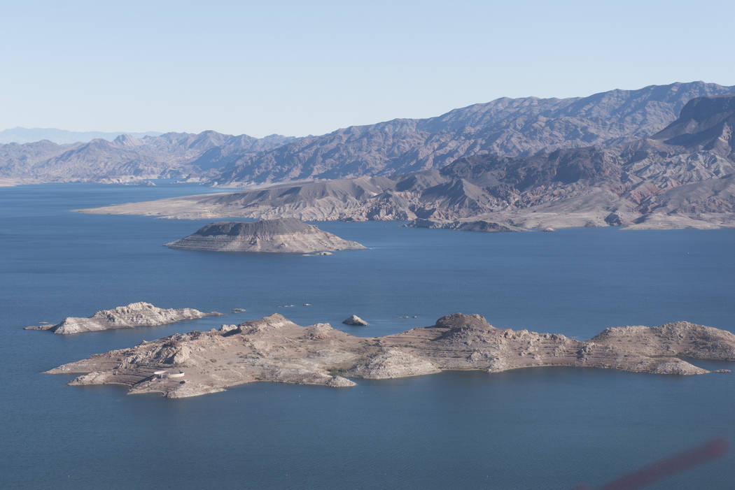 Lake Mead National Recreation Area. Jason Ogulnik/Las Vegas Review-Journal