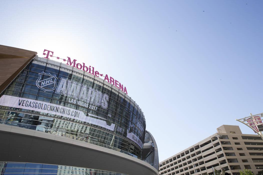 T-Mobile Arena on Thursday, May 11, 2017 in Las Vegas. Erik Verduzco Las Vegas Review-Journal @Erik_Verduzco