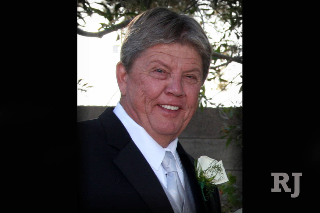 Frank Harris, co-founder of Las Vegas contractor Martin-Harris Construction, died on May 6, 2017 at the age of 66. (Linda Harris)