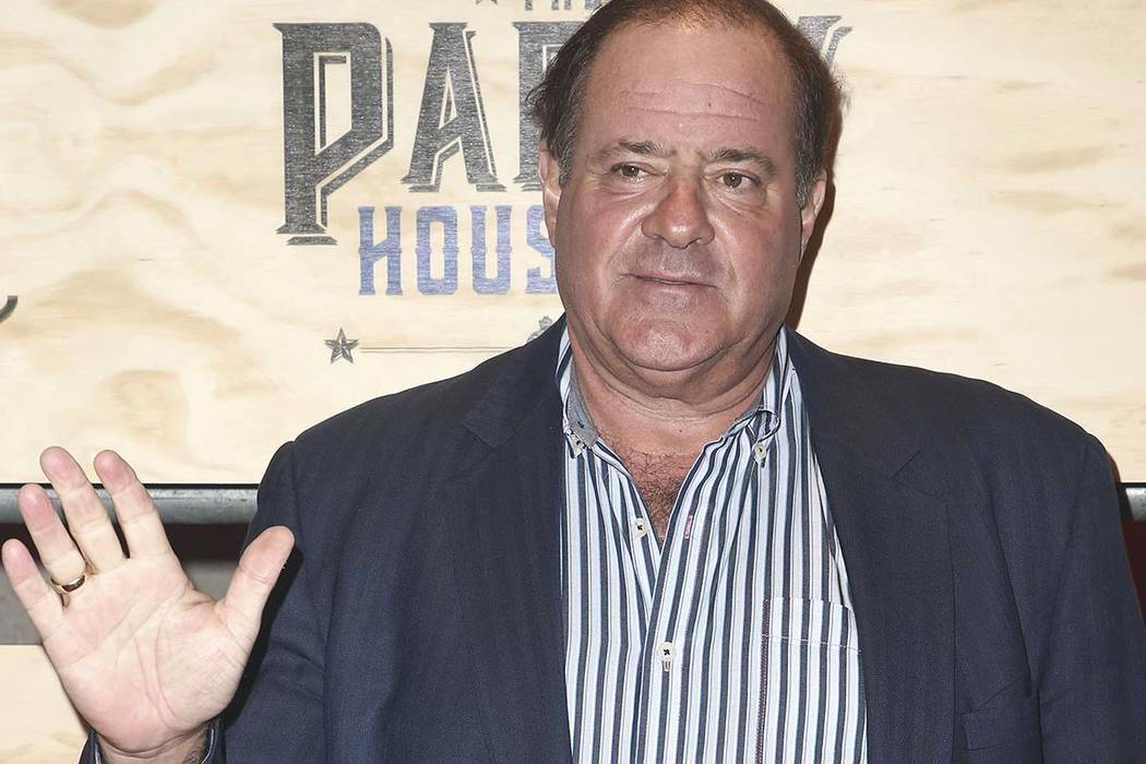 Chris Berman attends ESPN: The Party 2017 held on Friday, Feb. 3, 2017, in Houston, Texas.  John Salangsang/Invision/AP