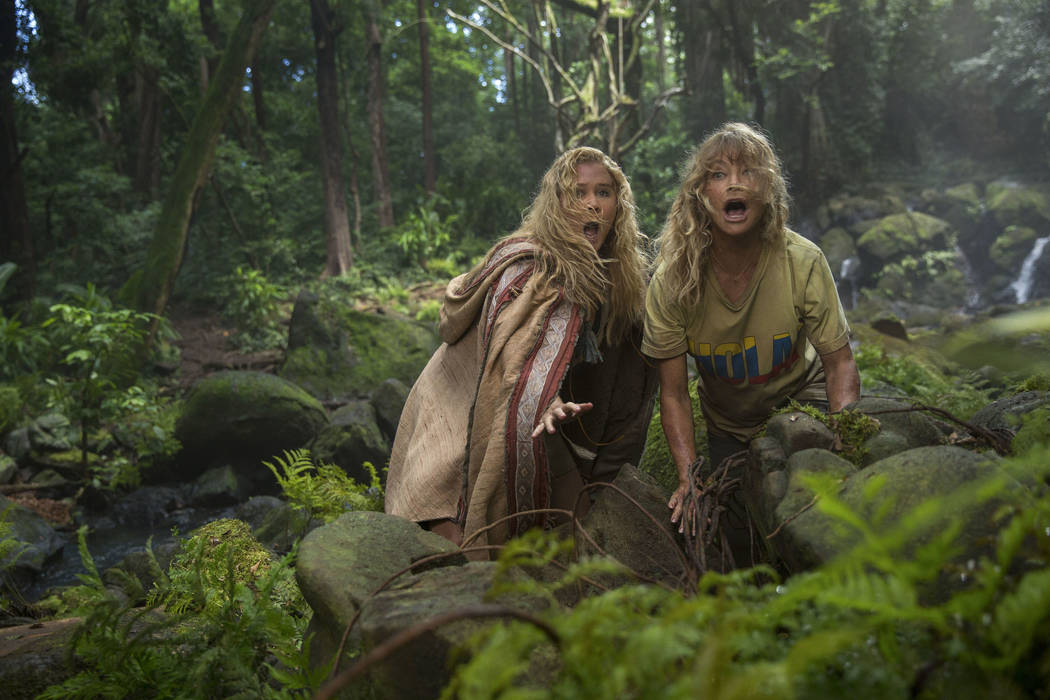 "Amy Schumer and Goldie Hawn star in ""Snatched."" Justina Mintz Twentieth Century Fox"