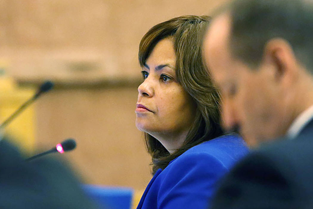 Clark County Manager Yolanda King (Ronda Churchill/Las Vegas Review-Journal)