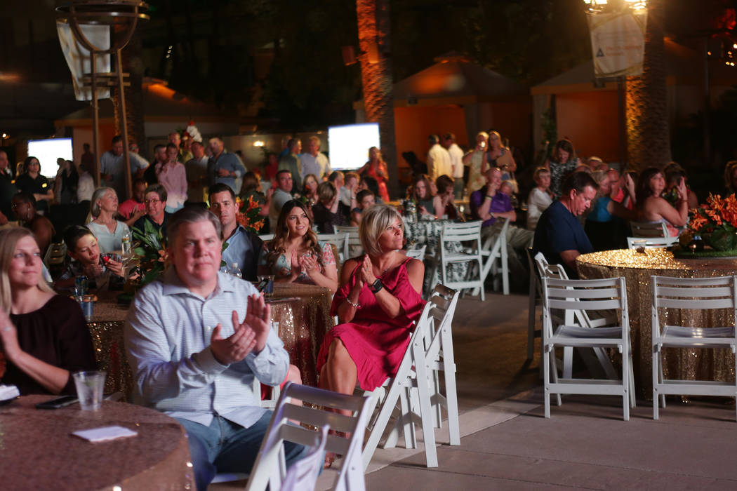 The crowd at the Coach vs. Cancer fundraiser event on Sunday, May 21, 2017, at the MGM Grand hotel-casino in Las Vegas. Rachel Aston Las Vegas Review-Journal @rookie__rae