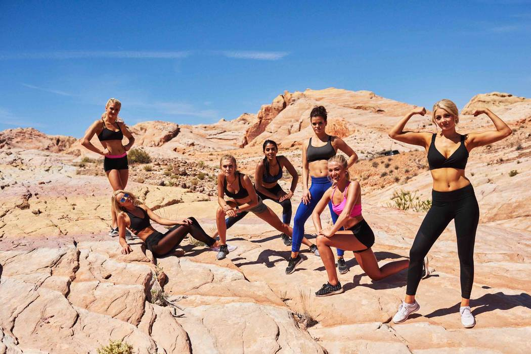 2017 Miss USA Pageant contestants visit Valley of Fire State Park in on Friday, May 5, 2017, in Nevada. (Miss Universe Organization)