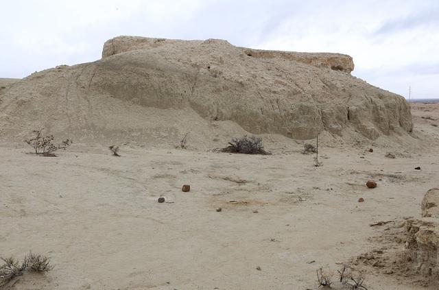 Tule Springs State Park where 20,000 year old animal fossils were found in 2011, on Friday, Jan. 20, 2017, in Las Vegas. (Bizuayehu Tesfaye/Las Vegas Review-Journal)@bizutesfaye