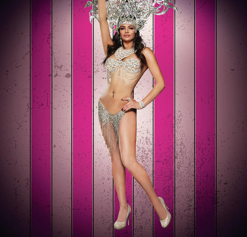 "Meeka of ""X Burlesque"" at The Flamingo in Las Vegas. (Maryanne Bilham)"
